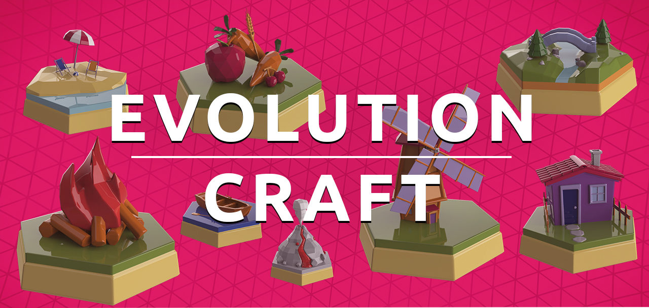 Evolution Craft Augmented Reality Game